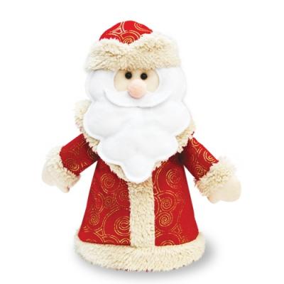 Фигурка-конфетница «Дедушка» 1200 гр, текстильная упаковка для подарков, конфет, дед мороз
