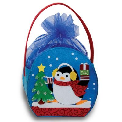 Сумочка из фетра «Пингвин», новогодняя упаковка