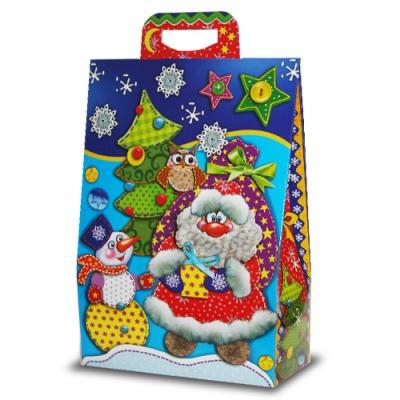 Новогодняя упаковка «Укрась Ёлку» 2000 гр, картонная подарочная коробка для конфет