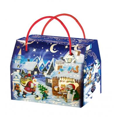 Новогодняя упаковка «Ночной дозор» 800 гр, картонная подарочная коробка для конфет