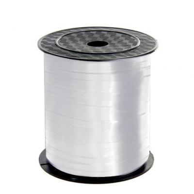 Лента подарочная белая,  5мм/500м