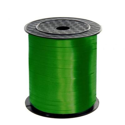 Подарочная лента Зеленая, 5мм/500м