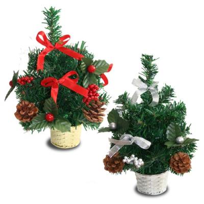 Ёлочка декоративная с шишками (D1) 30 см, новогодние украшения