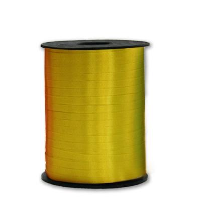 Подарочная лента Желтая, 5мм/500м