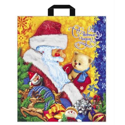Подарочный пакет Письмо Деду Морозу 380х420 мм, 40 мкм, новогодняя упаковка оптом
