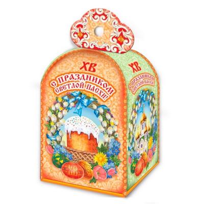Коробка подарочная «Пасхальное кружево» для кулича, пасхальная упаковка