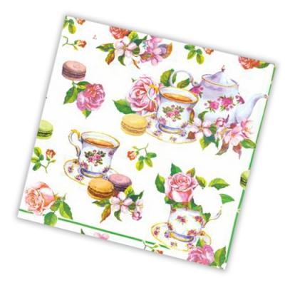 """Салфетки бумажные 3сл., 33x33, """"Чайная роза"""", 20шт."""