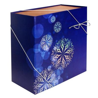 Складная подарочная коробка «Метелица» 1500 гр, новогодняя упаковка