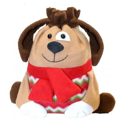 """Подарочный мешок """"Дружище"""" в виде собаки"""