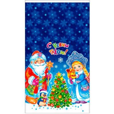 """Подарочный новогодний пакет полипропиленовый ПП """"Новогодние чудеса"""", 20х35 см, 35 мкм, новогодняя упаковка"""