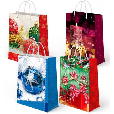 """Пакет подарочный """"НГ Микс №1"""", SM, новогодняя упаковка для подарков"""