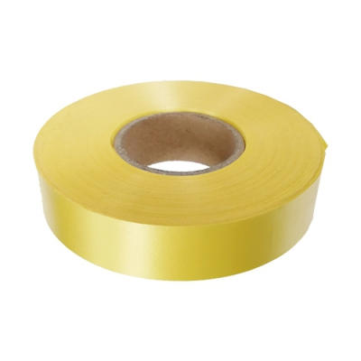 Лента подарочная желтая, 20мм/50м