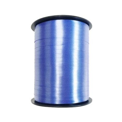 Лента подарочная синяя,  5мм/500м