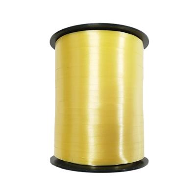 Лента подарочная желтая 5мм/500м