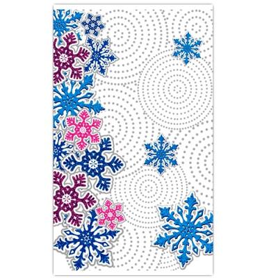 """Новогодний пакет полипропиленовый ПП """"Снежный вихрь"""", 300х500 мм, 35 мкм, новогодняя упаковка"""