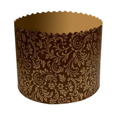 Бумажная форма для куличей «Флора» 134х100 мм, 500-550 гр