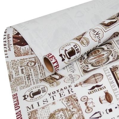 """Бумага оберточная """"Аристократ"""" для упаковки подарков"""