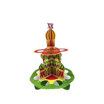 """Набор пасхальный для декорирования яиц """"Храм"""""""