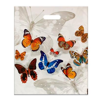 """Пакет """"Бабочки"""" 40х47, 45 мкм"""