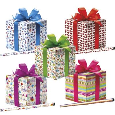 """Бумага оберточная """"Микс №11"""" для упаковки подарков"""