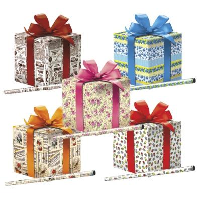 """Бумага оберточная """"Микс №12"""" для упаковки подарков"""