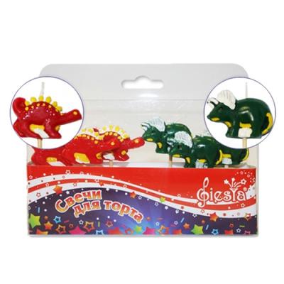 """Свечи для торта """"Динозавры"""""""