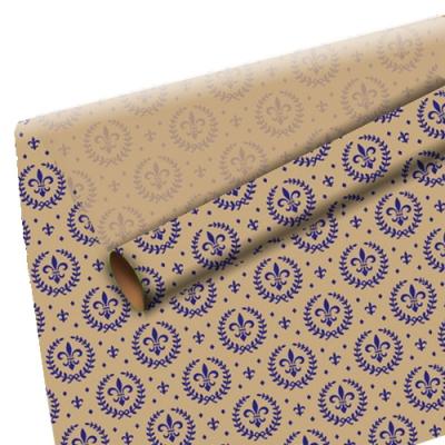 """Оберточная крафт-бумага """"Королевская лилия"""" для упаковки подарков"""