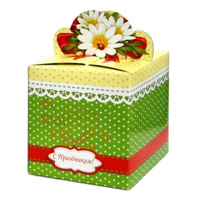 """Коробка подарочная """"Ромашки"""""""