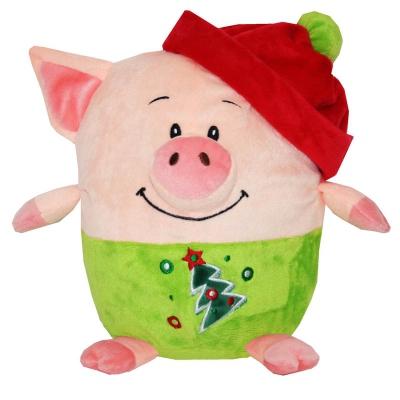 """Мягкая игрушка - конфетница """"Кругляш"""", текстильная новогодняя упаковка 2019 год свиньи"""