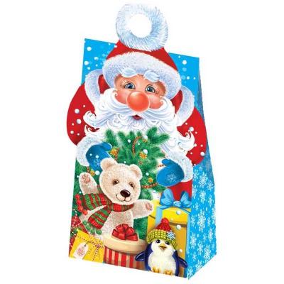 """Подарочная упаковка """"Морозик"""", 400-500 гр, картонная новогодняя упаковка для конфет"""