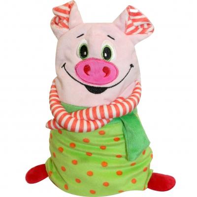 """Мягкая игрушка """"Гринч"""" 800 гр, для конфет, подарков. Символ нового 2019 года свиньи"""