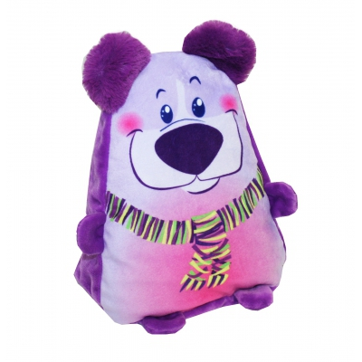 """Новогодняя упаковка """"Мишка-милашка"""", 1200 гр, мягкая игрушка для подарков"""