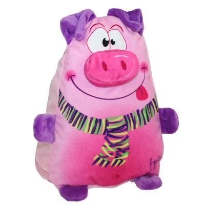 """Мягкая игрушка """"Хрюшка-пампушка"""", 1200 гр, текстильная новогодняя упаковка 2019 год свиньи"""