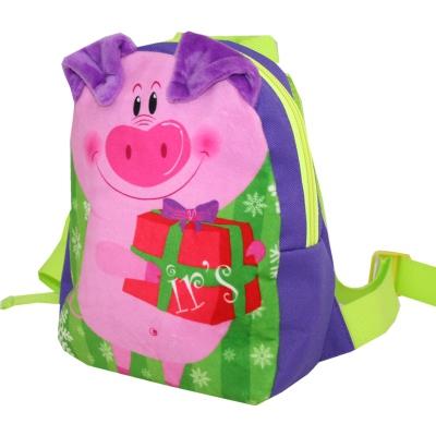 """Подарочный рюкзак """"Маленький Сюрпризик"""", 1200 гр, новогодняя упаковка 2019 год свиньи"""