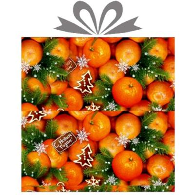 """Бумага оберточная новогодняя """"Новогодний аромат"""" для упаковки подарков"""
