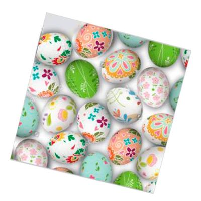 """Салфетки бумажные 2сл., 33x33, """"Пасхальные яйца № 2"""", 20шт."""
