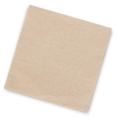 """Салфетки бумажные 1сл., 24х24 """"БигПак"""" крафт, 400шт."""