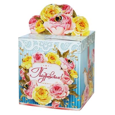 "Подарочная упаковка ""Пчелка"", 400гр, картонная коробка"