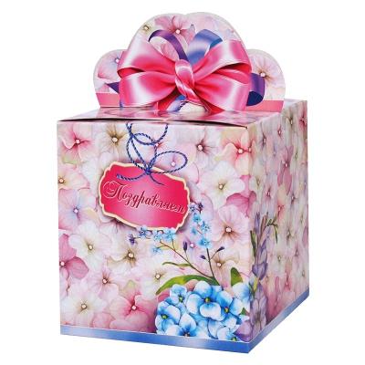 """Подарочная упаковка """"Гортензия"""", 400 гр, картонная коробка"""