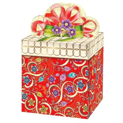 """Подарочная упаковка """"Узорная"""", 400 гр, картонная коробка для подарков"""