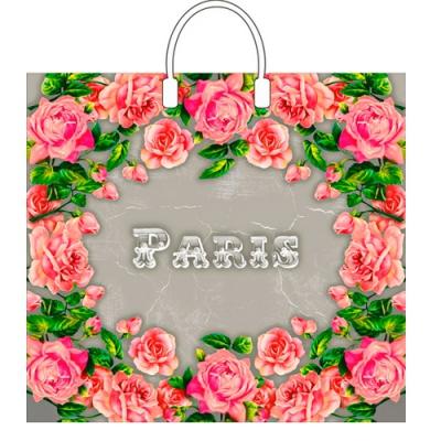 """Пакет """"Сады Парижа"""", 37х34, 80 мкм"""