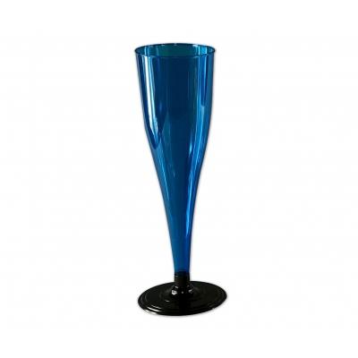 Фужер для шампанского 170 мл, синий