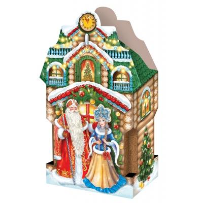 """Подарочная коробка """"Усадьба 2.0"""", 2000-2500 гр, картонная новогодняя упаковка для подарков"""