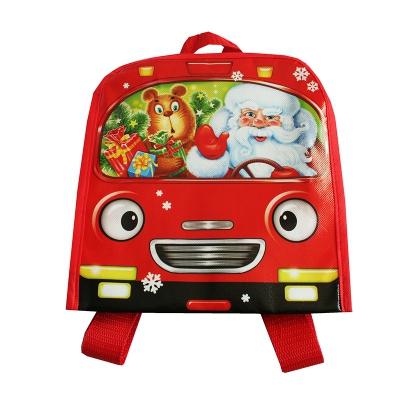 """Детский рюкзачок """"НГ АВТОБУС"""", 2000 гр, упаковка для подарков, конфет"""