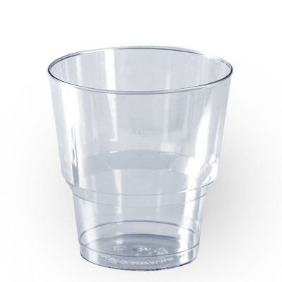 Стакан 200 мл, кристалл, прозрачный