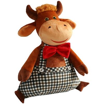 Игрушка-конфетница ДЖЕНТЕЛЬМЕН, 1500 гр, новогодняя упаковка в виде бычка