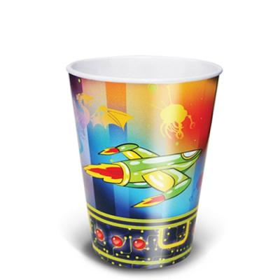 """Одноразовые бумажные стаканы """"Галактика"""", 250мл, одноразовая посуда"""