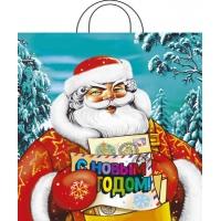 Пакет новогодний Русская зима, 38х42 см, 40 мкм