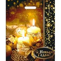 "Пакет новогодний лам. ""Загадай желание"", 38х47 см, 60 мкм"