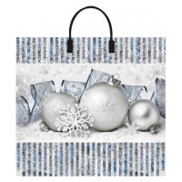 Пакет новогодний Лед, 38х35 см, 90 мкм